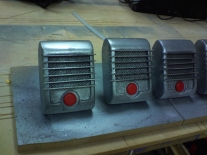 drive-in retro speakers