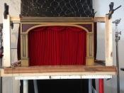 model theatre proscenium for maltessea
