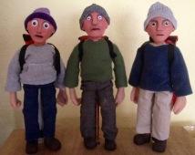 Puppet contestants