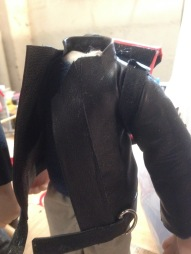 leather jacket for puppet contestants