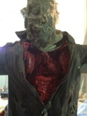 Scarecrow chest bust