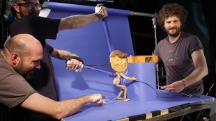 Puppeteering with Jonny and Will