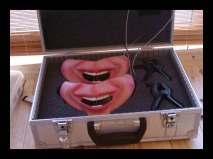 Masks for ventriloquist act.