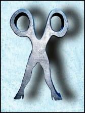 Polystyrene Scissor Sisters logo