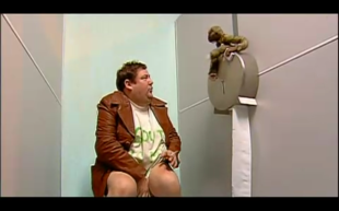 Johnny Vegas 18 stone of idiot with Angry baboon