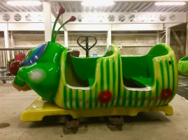 Original caterpillar ride