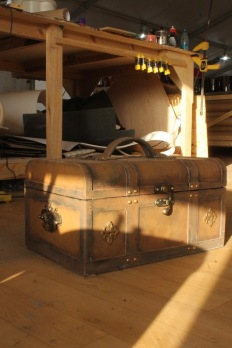 leather chest made from plastazote